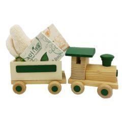 Trenino con saponi